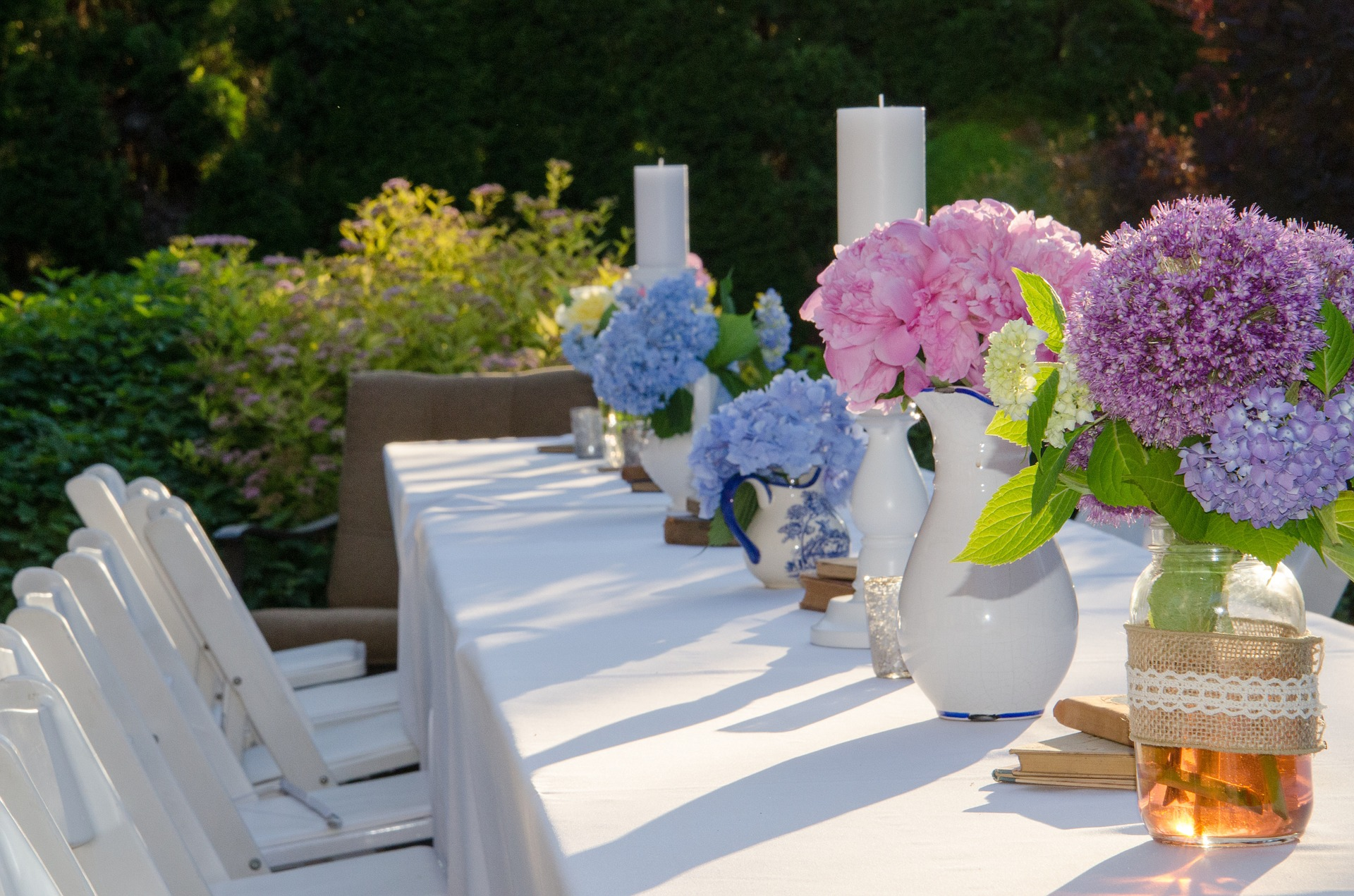 Makeyour outdoor event as beautiful as this with the right planning.