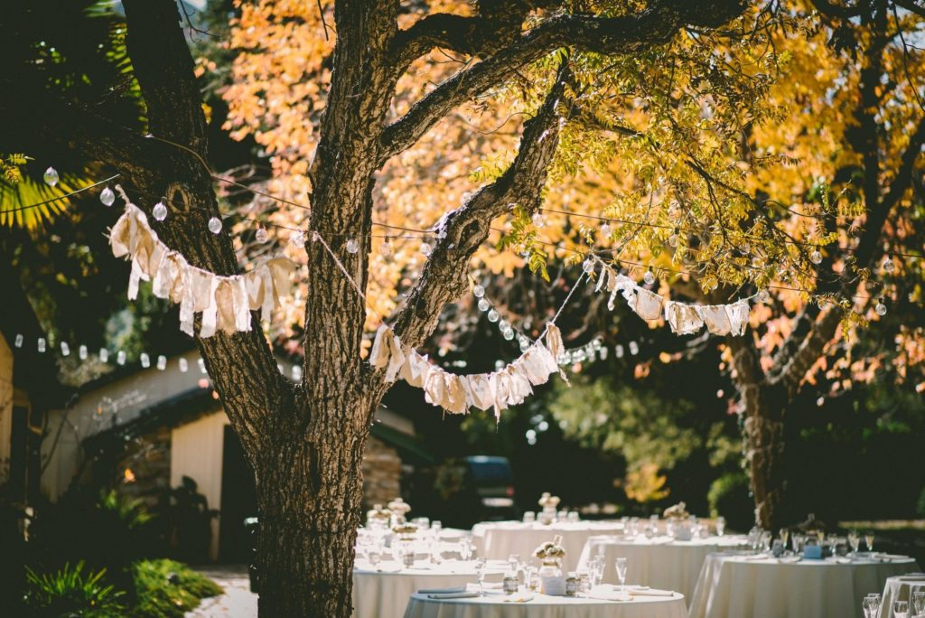Outdoor wedding venues can be a nice change of pace.