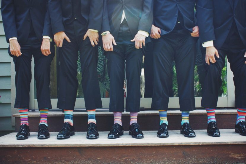 Your wedding should be unique and fun, like these socks.